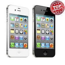 Apple iPhone 4S 8GB-16GB-32GB Unlocked Smartphone Black/ White Good Condition