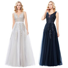 Fashion Formal Cocktail Ball Gown Party Prom Bridesmaid Evening Wedding Dress
