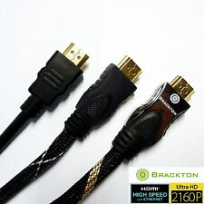 Brackton ULTRA HD 4K FULL HDMI 2.0 3D Cable 0,5 1m 1,5m 2m 3m 5 7,5 10 15 20 30m