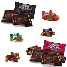GHIRARDELLI SQUARES DARK CHOCOLATE COLLECTION (6 Varieties) Lindt christmas