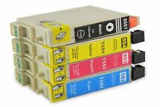 4 printer cartridges Ink Cartridges compatible with Epson T0551 - T0554