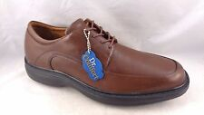 Dr. Comfort Shoes Men Diabetic Classic 8420 Brown Leather Orthopedic Oxfords x88