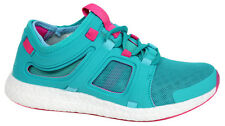 Adidas CC Rocket Womens Lace Up Teal Running Trainers S74468 U49