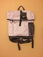 NWT Nike Authentic Sports Backpack Gray Mesh for Football/Tennis Shoe Bag GA0262