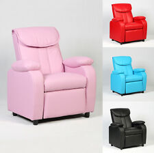 Home Room Kid Recliner Sofa Armrest Chair Couch Lounge Children New Furniture