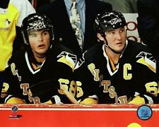 Mario Lemieux & Jaromir Jagr Penguins NHL Action Photo TX231 (Select Size)