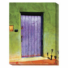 Global Gallery Santa Fe Portal by Suzanne Silk Graphic Art Print on Canvas
