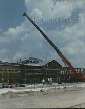 1995 Press Photo Construction of the new ABB Vetco Gray Building in Houston