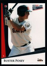"BUSTER POSEY MINT GIANTS ROOKIE CARD RC SP 2009 TRISTAR PLUS SAN FRANCISCO ""GEM"""