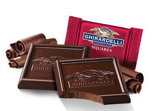 60% DARK CHOCOLATE GHIRARDELLI SQUARES Lindt christmas gift present USA IMPORT