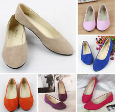 New Women Shoes Ballet Flats Plus Size 43 Casual Low Heel Sapatos Womens Loafers