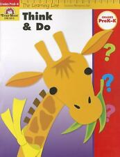 The Learning Line: Think & Do Grades PreK-K--(NEW)