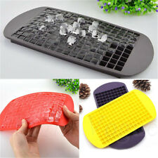 DIY Safety 160 Ice Cubes Frozen Cube Bar Pudding Silicone Tray Mould Mold Top