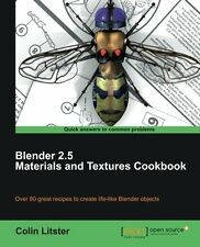 Blender 2.5 Materials and Textures Cookbook by Colin Litster 9781849512886