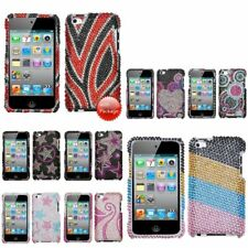 Colorful Bling Rhinestone Diamond Hard Case Cover for iPod Touch 4th Gen 4G 4