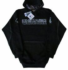 Chicago White Sox Majestic MLB Big & Tall Catchers Box Pullover Hoodie-Black-NWT