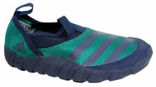 Adidas Jawpaw Kids Slip On Blue Green Outdoor Shoes S32051 D26