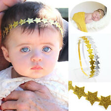 Cute Baby Girl Toddler Kids Elastic Star Hair Band Headband Knot  Headwear Gifts