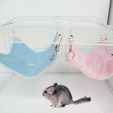 Pet Small Rat Hamster Hammock Hanging Bed House Mouse Comfort Supply 2 Colors
