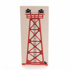 Cats Meow Village #395 FLOODLIGHT TOWER Wood Lionel Train Retired L9726