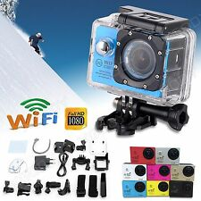 WiFi SJ7000 2'' HD 1080P Sports Camera Waterpoof Helmet Action DV Dash Camcorder
