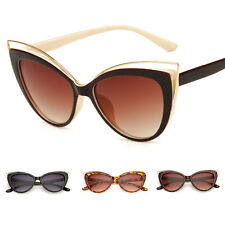 Vintage Retro Cat Eye UV400 Sunglasses Womens Fashion Eyewear Shades Eye Glasses