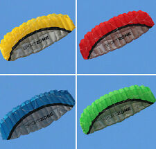 2.5m Outdoor Toys Dual Line Parafoil Parachute Stunt Sport Beach Kite Flying toy