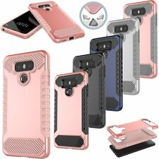 New Hybrid Slim Shockproof Hard Rugged Heavy Phone Cover Case For LG Cell Models
