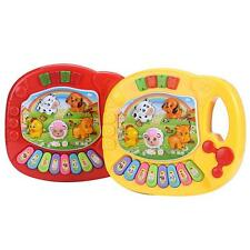 Baby Kids Musical Educational Farm Animal Piano Developmental Music Toy Gift