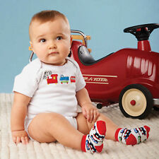 Mud Pie Baby ALL BOY CRAWLER AND SOCK SET 174560 On The Go Collection
