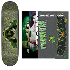 "CREATURE Skateboard Deck BINGAMAN BAT 8.3"" with MOB Griptape"