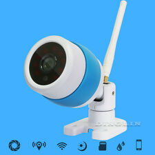 Wireless IP Camera WiFi HD 720P Water Resistant Network Security Night Vision