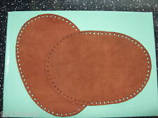 SUEDE 100%  ELBOW / KNEE PATCHES 3 SIZES, WITH HOLES PUNCHED