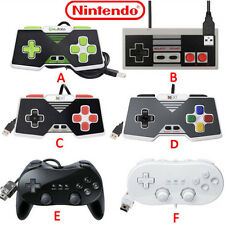 Nintendo SNES NES USB Controller For PC/Mac Classic Controller Pro For Wii/Wii U