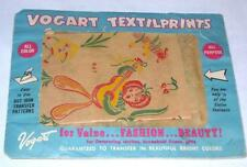Vintage VOGART PAPER TRANSFERS - Hispanic, Mexican & Anthropomorphic Vegetables