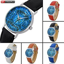Fire Fighter Custom Dial Wrist Watch Quartz Analog Leather Strap Men Women Gift