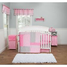 Trend Lab Poppy Pink Lily Nursery Crib Bedding CHOOSE FROM 3 5 9 Piece Set