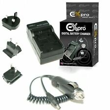 DUAL Battery Charger for Sanyo DB-L40, DBL40 Xacti DMC-FE30, DMX-HD1, DMX-HD1A