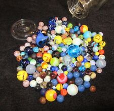 Look At The Jabo Marble King & Mega Marbles In The Ball Ideal Glass Jar & Lid :)