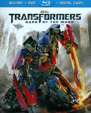 Transformers: Dark of the Moon (Blu-ray/DVD, 2011, 2-Disc Set,