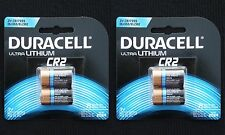 Duracell Type CR2 Ultra Lithium Batteries, 4-Cnt (Exp. 2024!!)