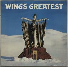 Paul McCartney and Wings vinyl LP album record Wings Greatest UK PCTC256