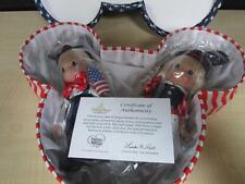 Disney Precious Moments Stars & Stripes Forever Dolls - Ltd Edition