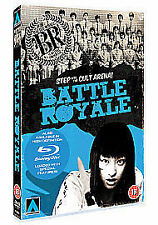 BATTLE ROYALE KINJI FUKASAKU ARROW FILMS UK 2011 REGION 2 DVD & BOOKLET NEW