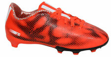 Adidas F10 FG Firm Ground Junior Football Boots Soccer Red B39900 D92