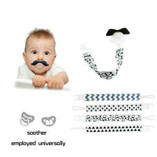 Baby Chain Clip Holders Leash Strap For Boy Girl Kids Pacifier Soother Nipple