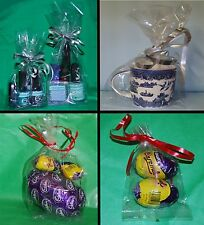 Clear Cellophane Gusset Bags Party Bags Favour Crafts Sweets Display Gifts Cello
