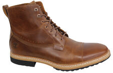 Timberland Rugged Waterproof Mens Brown Leather Boots A12U8 D6