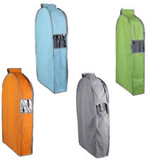 Home Non-woven Fabric Zippered Clothing Clothes Dress Garment Suit Cover Bag
