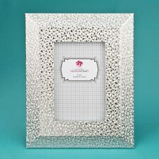 15 Elegance & Style Silver PU Table Frame 4 X 6 With Wide Border Beveled Edge